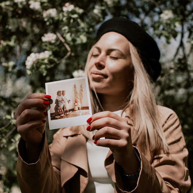 Фотокарточки в стиле Polaroid. Подарочный набор(4)