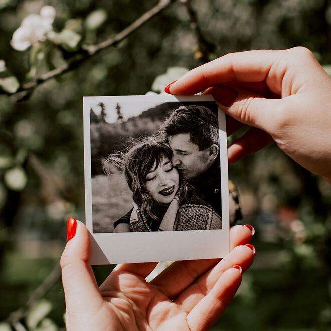Фотокарточки в стиле Polaroid. Подарочный набор(5)