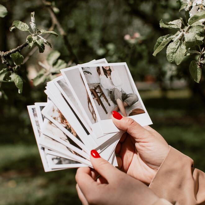 Фотокарточки в стиле Polaroid. Подарочный набор(3)