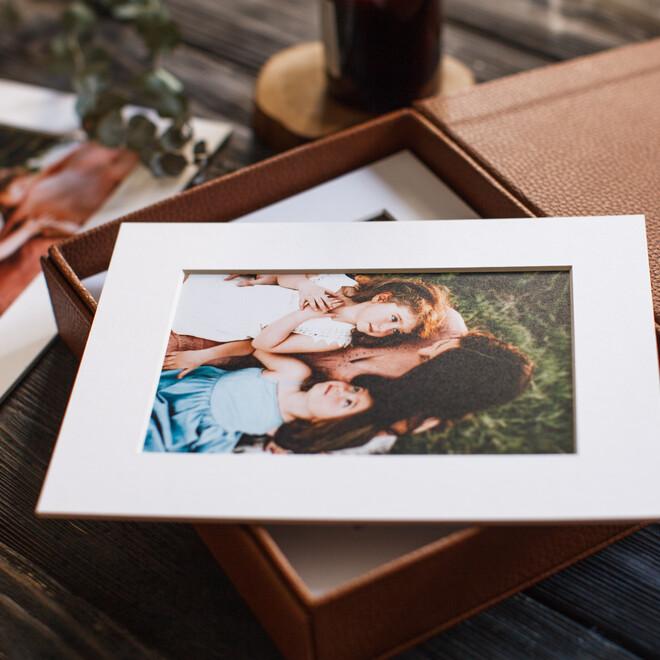 Коллекция фотокарточек в паспарту с коробом(3)