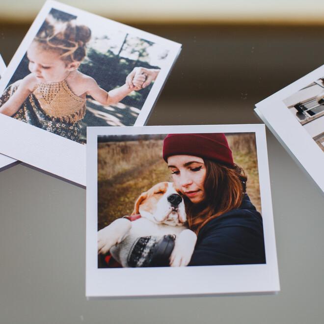Фотокарточки в стиле Polaroid. Подарочный набор(1)