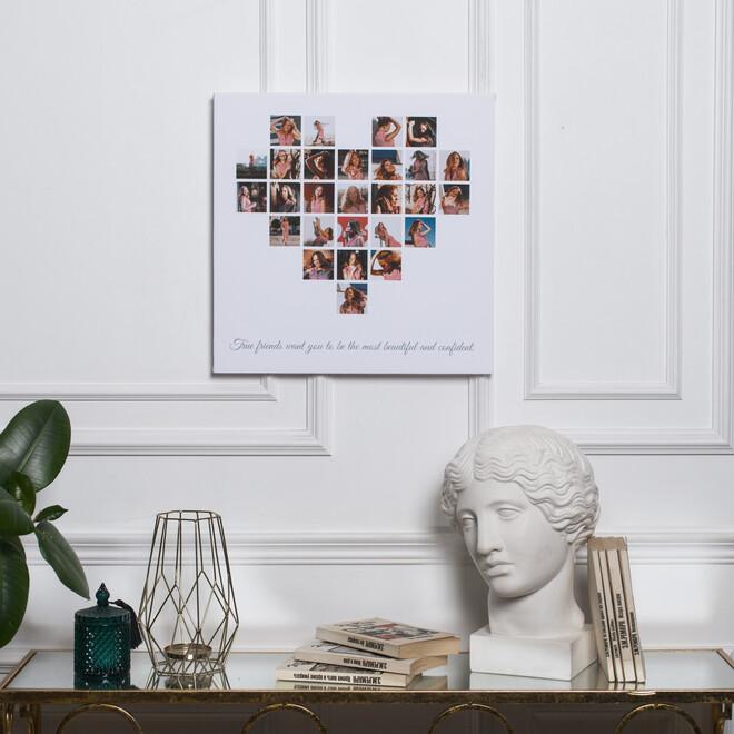 Коллаж - сердце из 27 снимков(3)