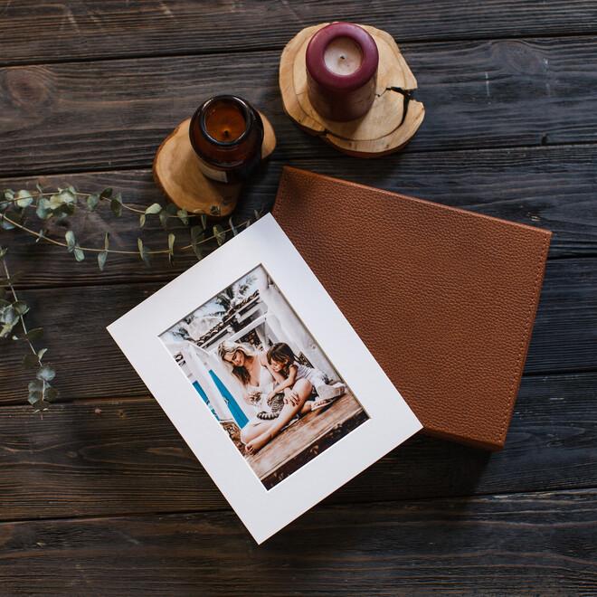 Коллекция фотокарточек в паспарту с коробом(1)