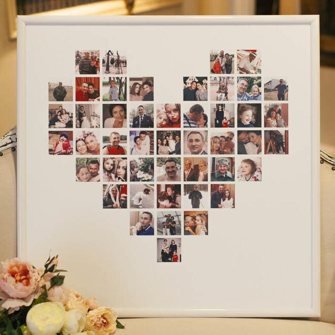 Коллаж-сердце из 46 снимков(1)